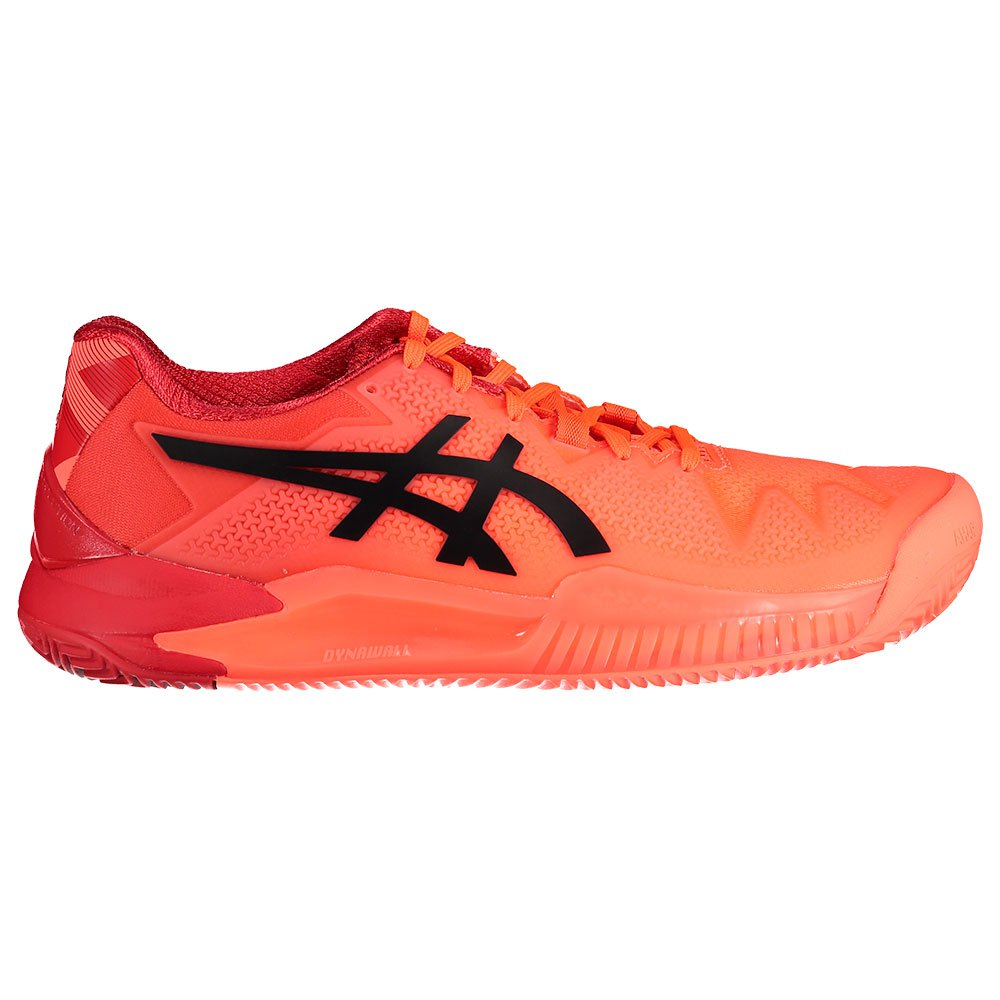 Asics Gel Resolution 8 Clay Tokyo EU 37 Sunrise Red / Eclipse Black