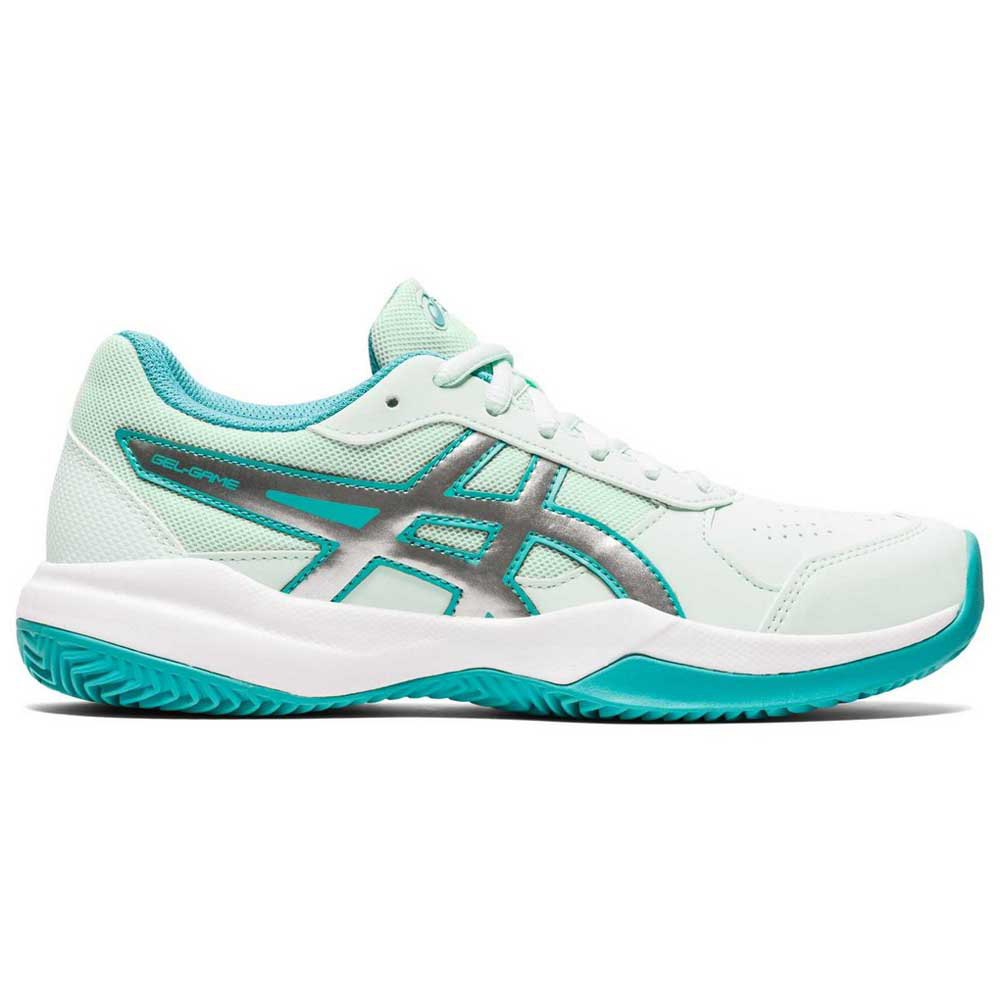Asics Gel Game 7 Clay Oc Gs EU 37 Bio Mint / Pure Silver
