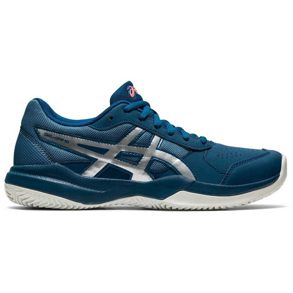 Asics Gel Game 7 Clay/oc Gs EU 37 Mako Blue / Pure Silver