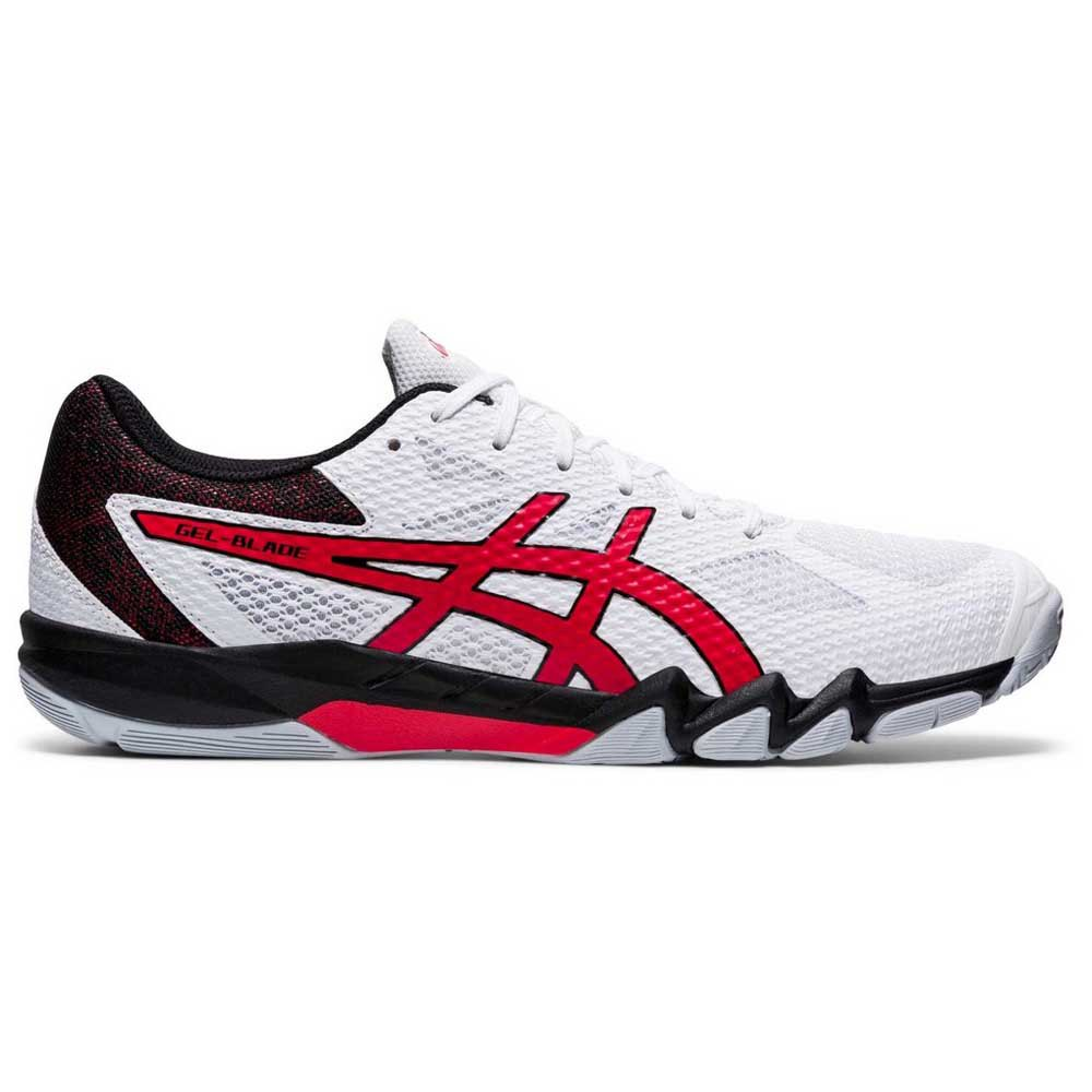 Asics Chaussures Gel Blade 7 EU 44 White / Classic Red