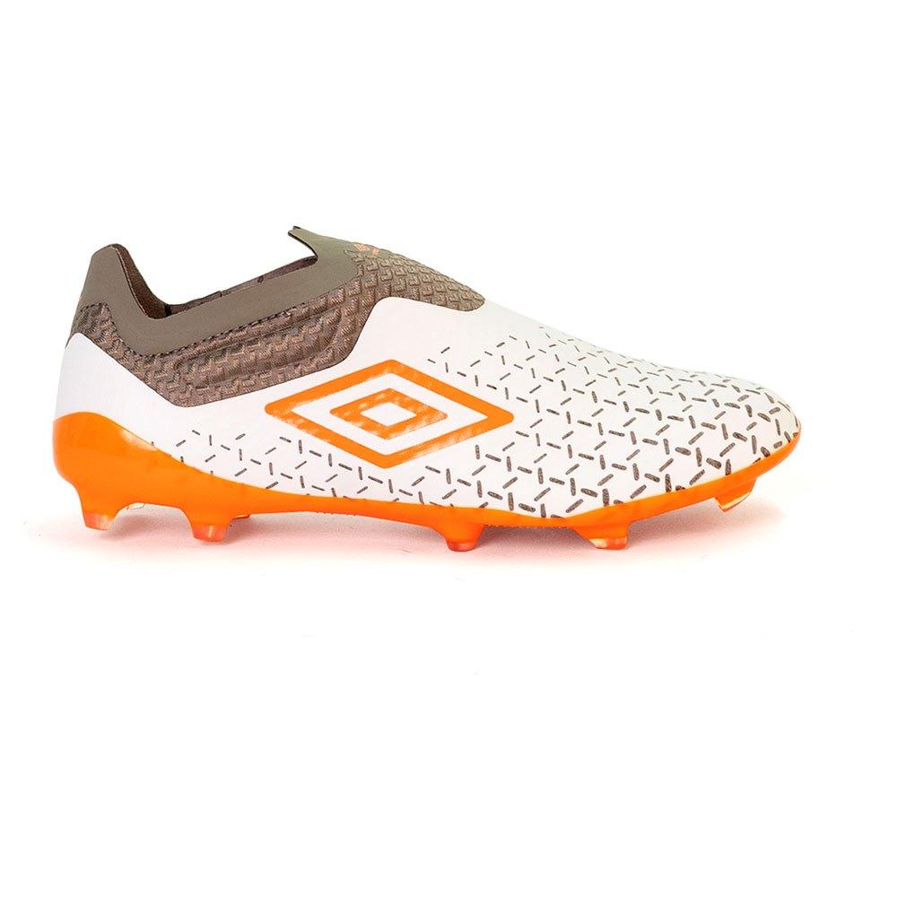 Umbro Chaussures Football Velocita V Elite Ag EU 41 White / Carrot / Frost Gray