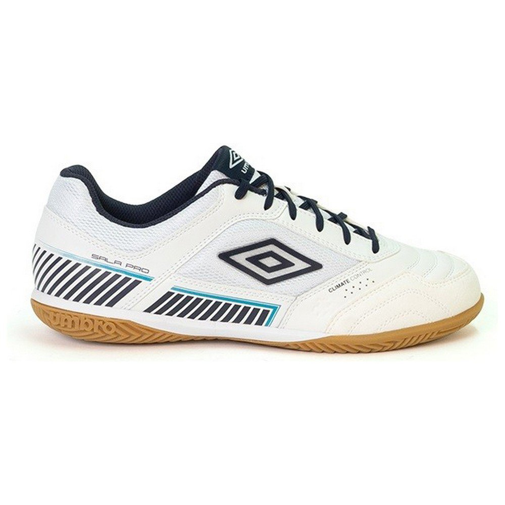 Umbro Chaussures Football Salle Sala Ii Pro In EU 39 White / Peacoat / Capri Breeze