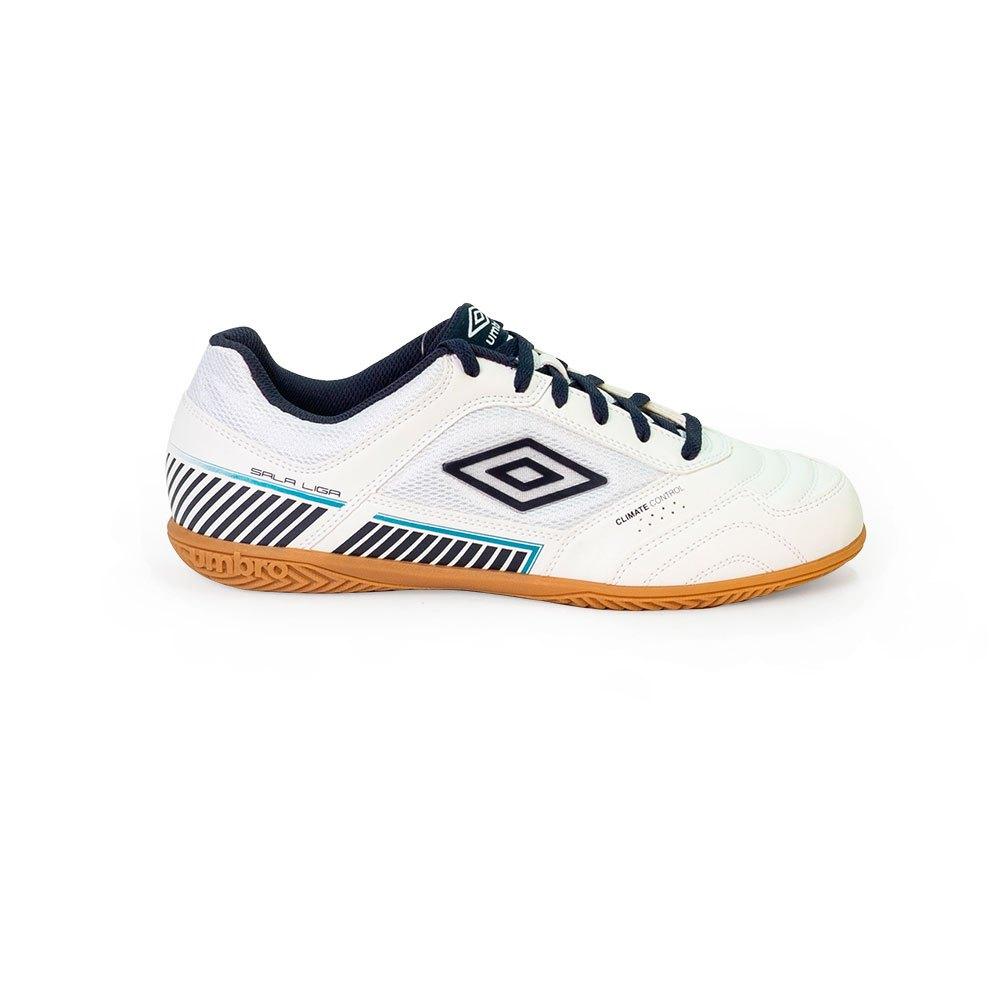 Umbro Chaussures Football Salle Sala Ii Liga In EU 39 White / Peacoat / Capri Breeze