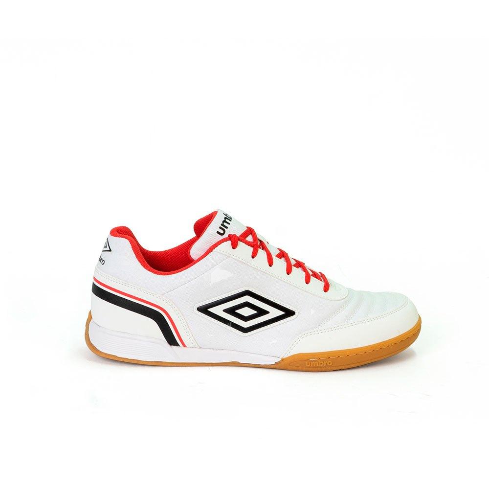 Umbro Chaussures Football Salle Futsal Street EU 40 White / Black / Lollipop