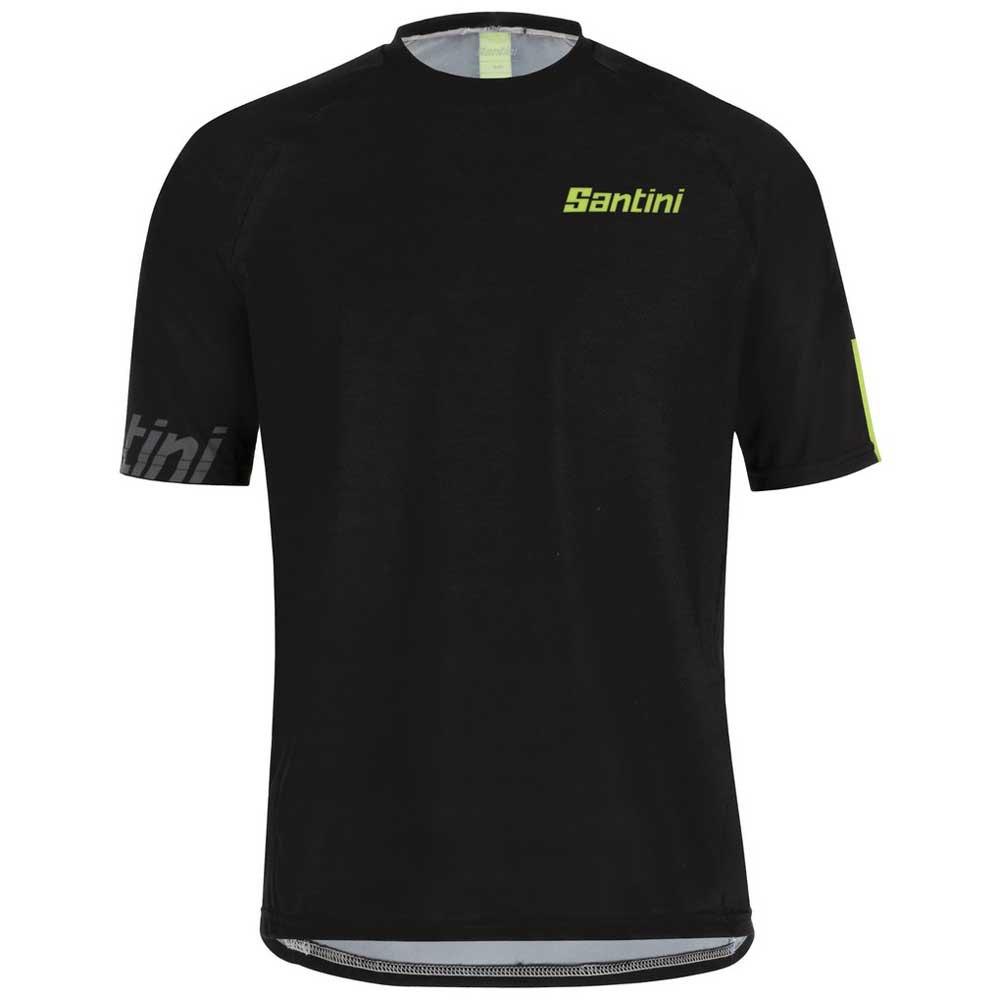 Santini Sasso XXXL Black / Green Fluor