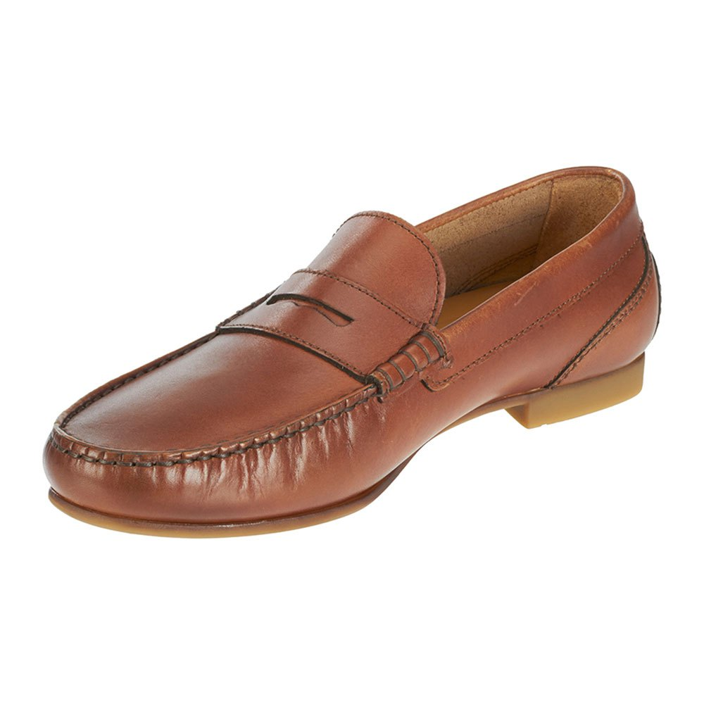 Sebago Trenton Penny EU 44 Tan Leather