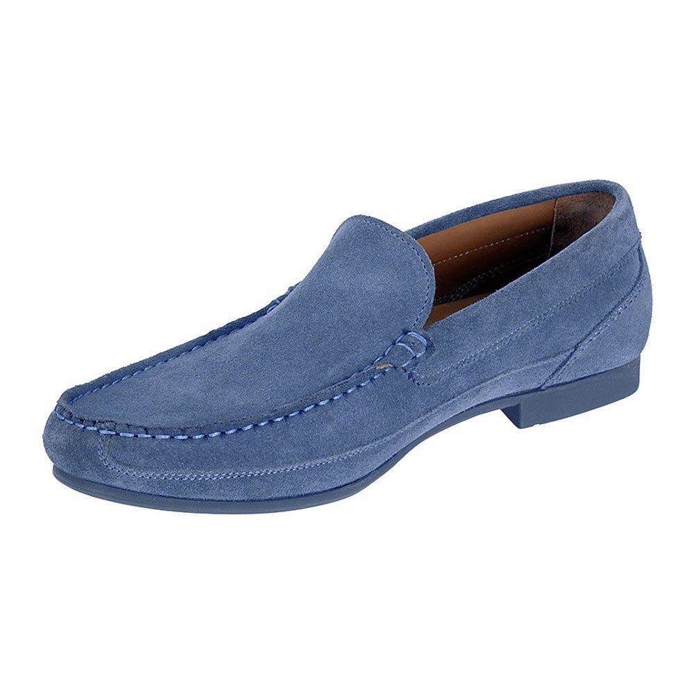Sebago Trenton Slip On EU 44 1/2 Blue Suede