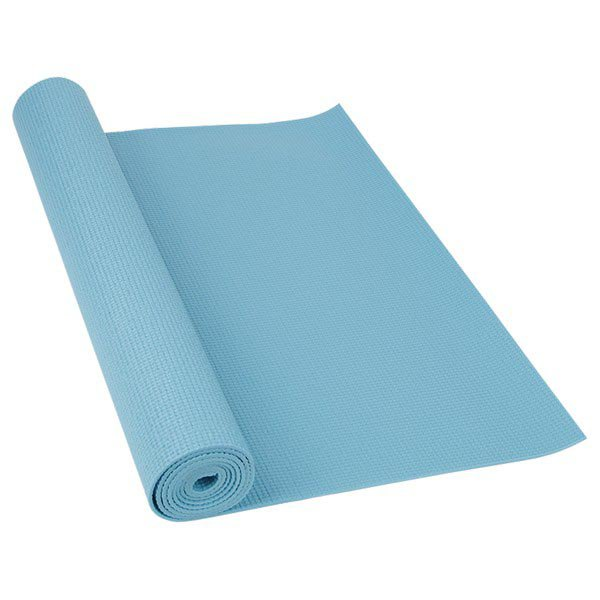Softee Pilates / Yoga Mat Deluxe 4mm 180 x 60 x 0.4 cm Light Blue
