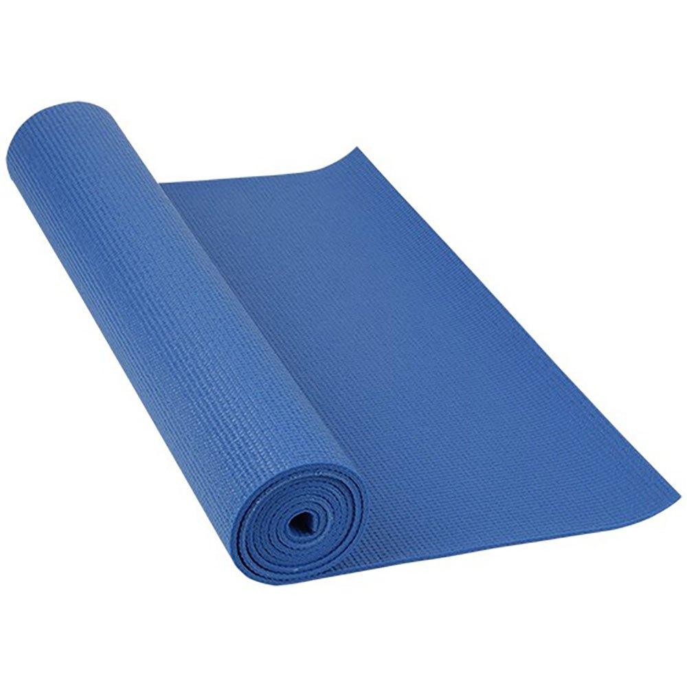 Softee Pilates / Yoga Mat Deluxe 4mm 180 x 60 x 0.4 cm Blue