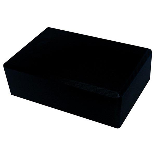 Softee Yoga Block 23 x 15 x 7.5 cm Black