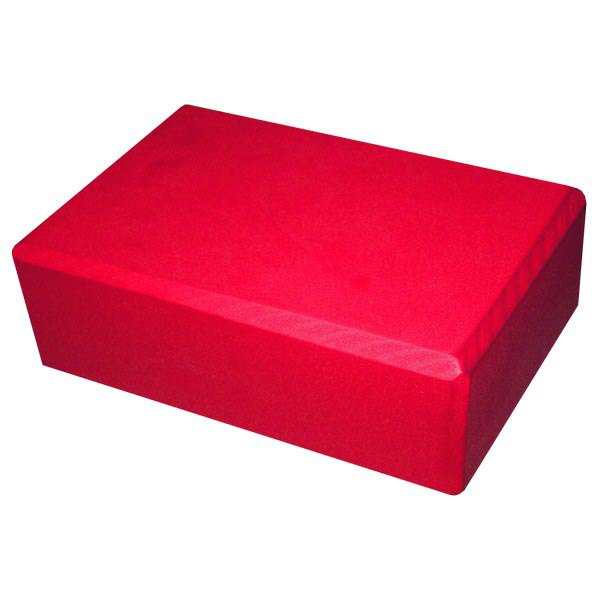 Softee Yoga Block 23 x 15 x 7.5 cm Red