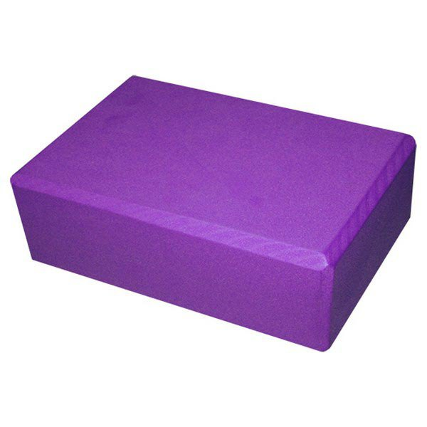 Softee Yoga Block 23 x 15 x 7.5 cm Purple