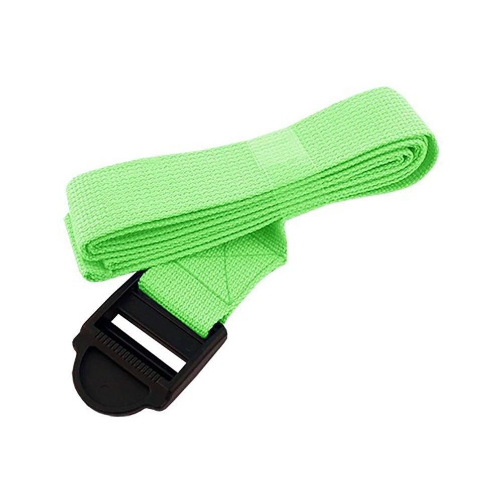 Softee Yoga Belt 185 x 3.8 cm Green