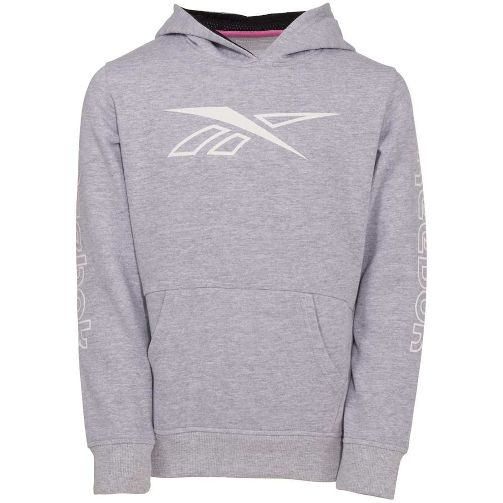 Reebok Outline Pullover 12 Years Light Heather Grey