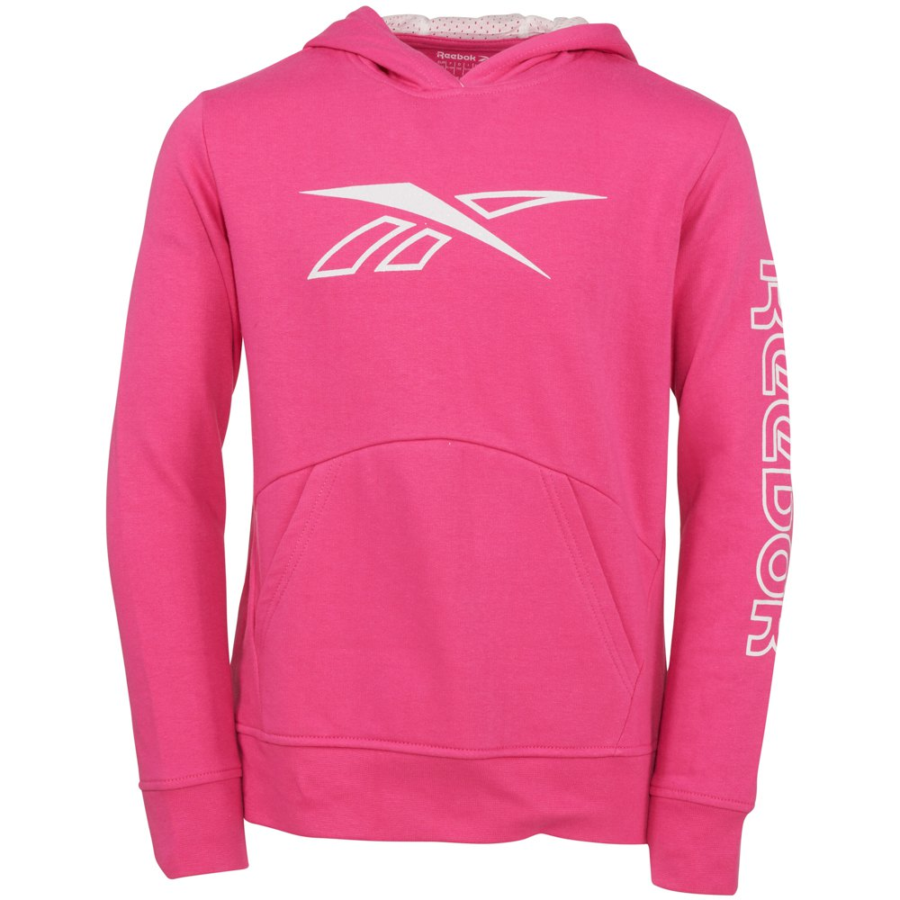 Reebok Outline Pullover 8 Years Shocking Pink