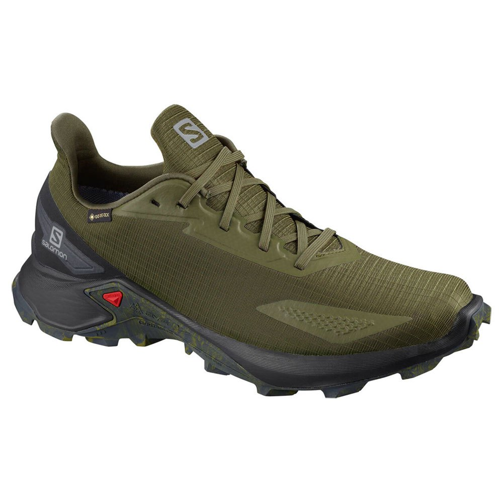 Salomon Alphacross Blast Goretex EU 45 1/3 Olive Night / Black / Ebony