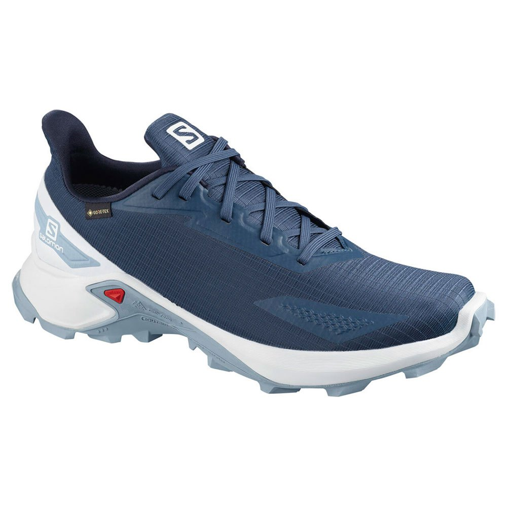 Salomon Alphacross Blast Goretex EU 40 Dark Denim / White / Ashley Blue