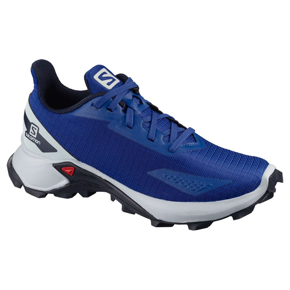 Salomon Alphacross Blast EU 40 Surf The Web / Navy Blazer / Pearl Blue
