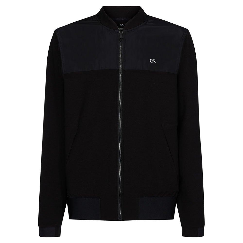 Calvin Klein Performance Bomber Jacket S Ck Black