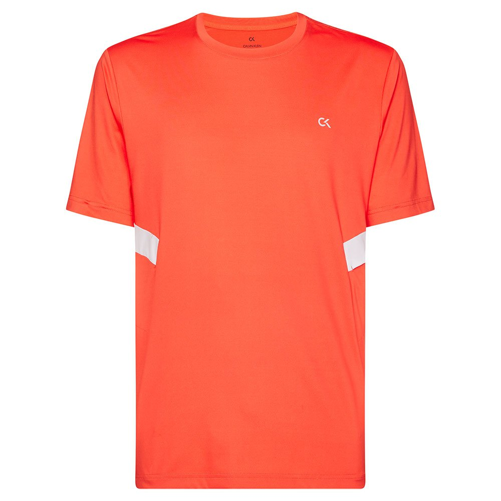 Calvin Klein Performance Short Sleeve T-shirt S Hot Coral