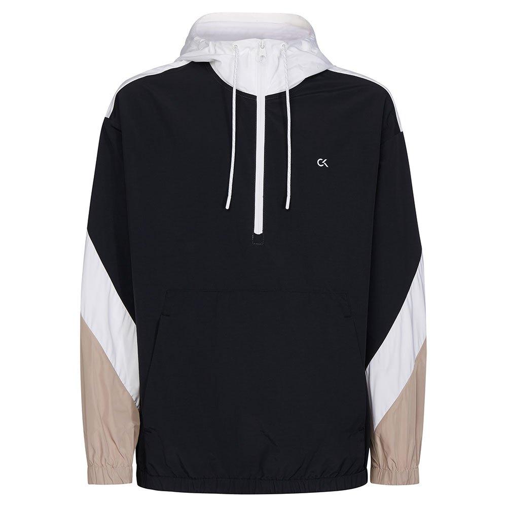 Calvin Klein Performance Hooded Woven Jacket S Ck Black