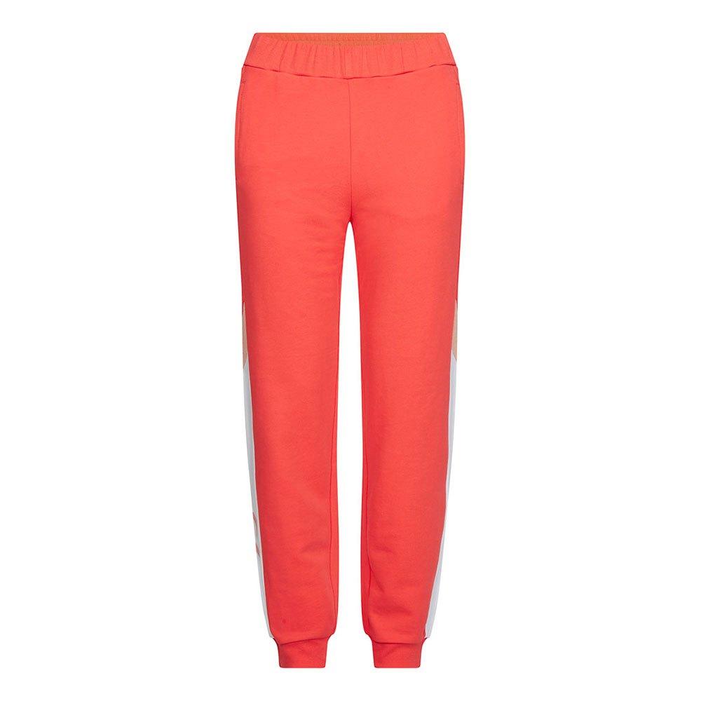 Calvin Klein Performance Knit Pants XS Hot Coral