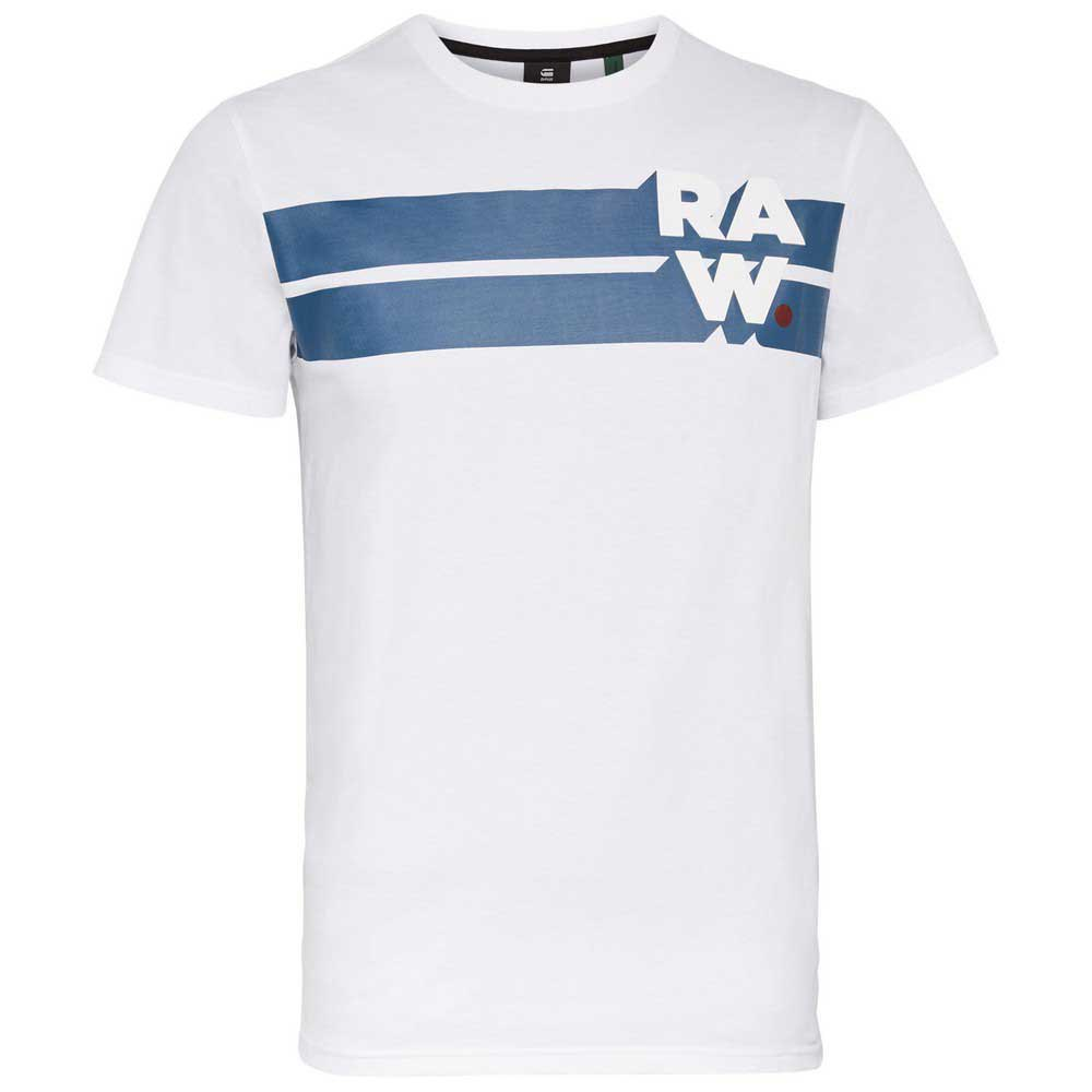 G-star Raw Stripe Graphic L White