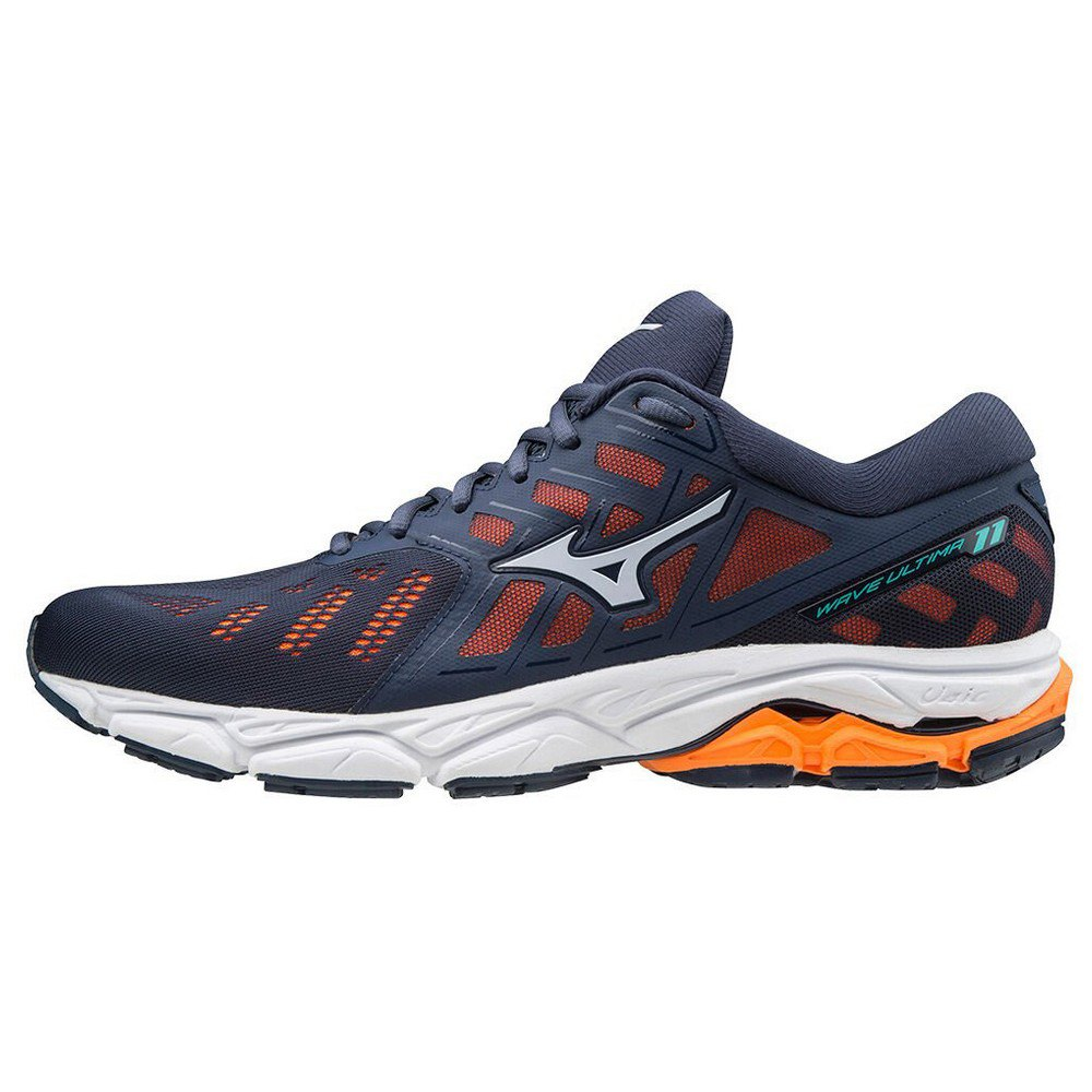Mizuno Wave Ultima 11 EU 40 Mood Indigo / Arctic Ice / Orange