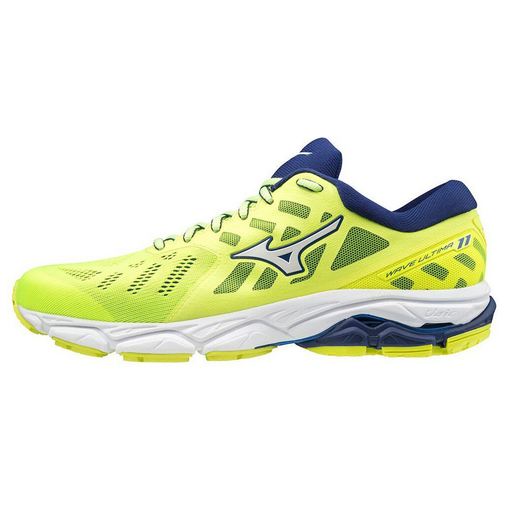 Mizuno Wave Ultima 11 EU 45 Safety Yellow / White / Blue Depths