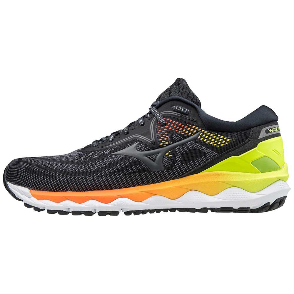 Mizuno Wave Sky 4 EU 39 Phantom / Castelrock / Yellow