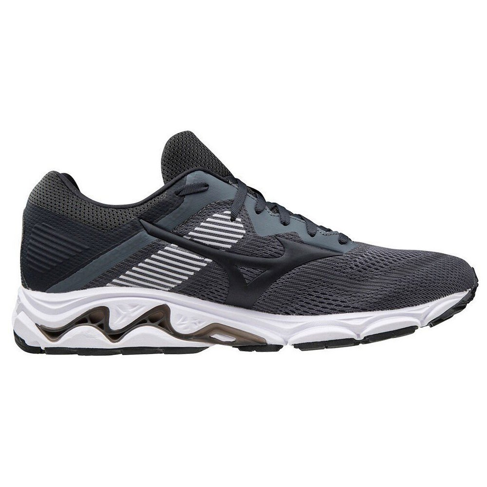 Mizuno Wave Inspire 16 EU 44 Castlerock / Phantom / Orange