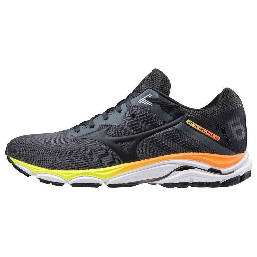 Mizuno-Wave-Inspire-16-Nero-T95101-Scarpe-running-uomo-Nero-Scarpe-running miniatura 7