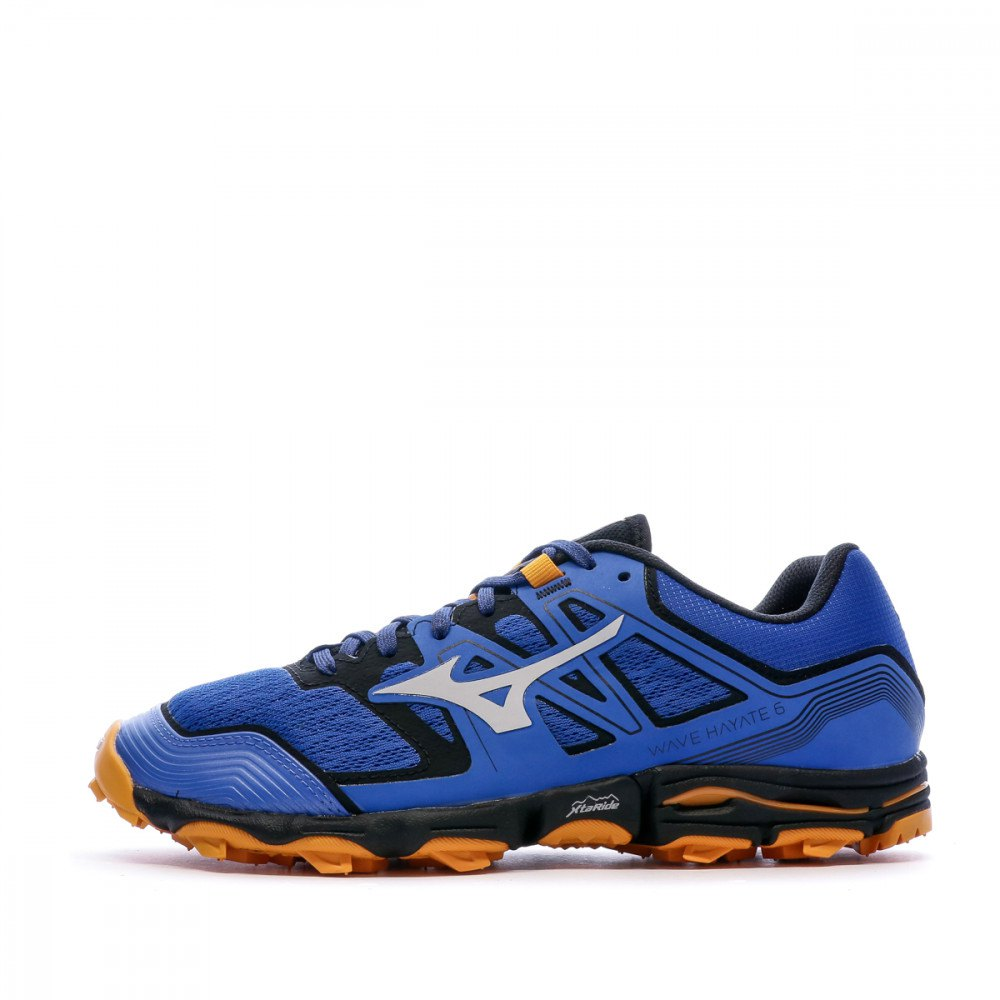 Mizuno Wave Hayate 6 EU 41 Princess Blue / Lunar Rock / Orange