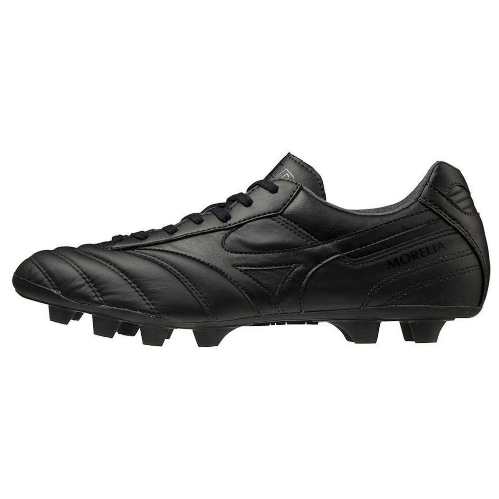 Mizuno Morelia Ii Elite Md Football Boots EU 39 Black / Black