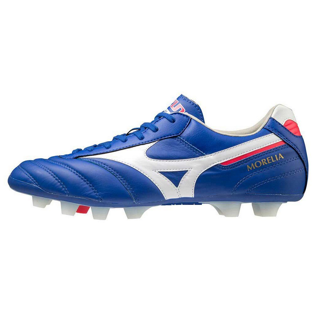 Mizuno Morelia Ii Elite Md Football Boots EU 39 Reflex Blue / White