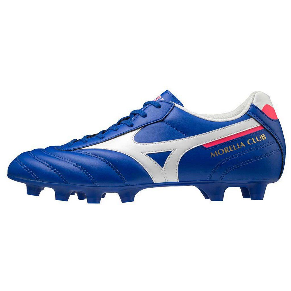 Mizuno Morelia Ii Club Md Football Boots EU 40 Reflex Blue / White