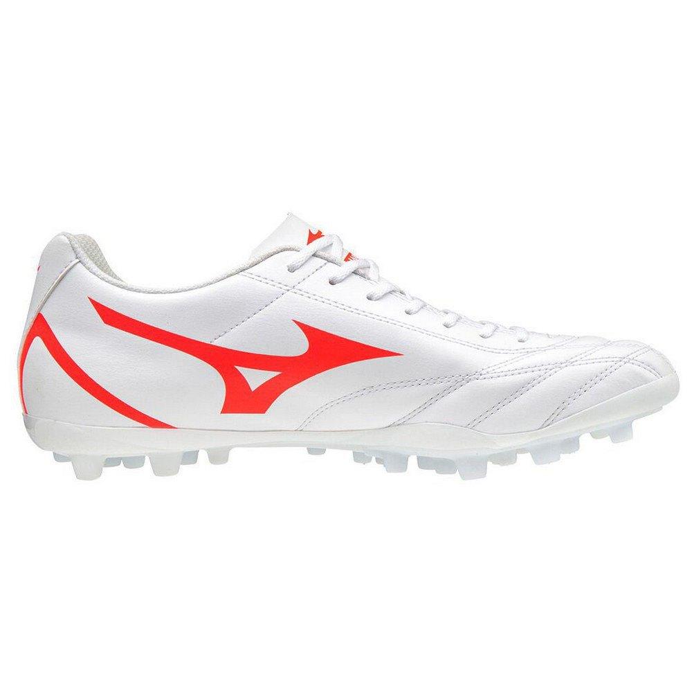 Mizuno Chaussures Football Monarcida Neo Select Ag EU 47 White / Fiery Coral 2