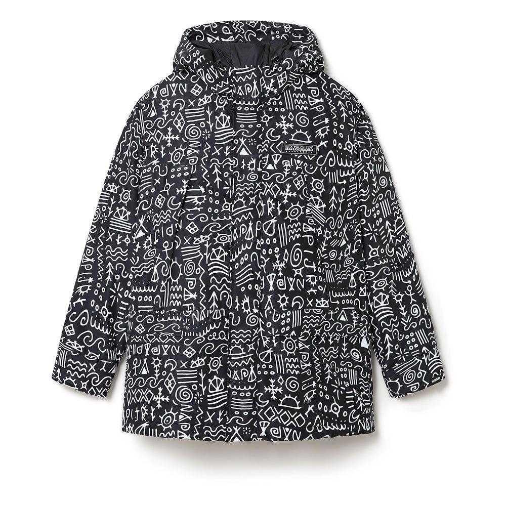 Napapijri A-noaide XS Black / All Over Print