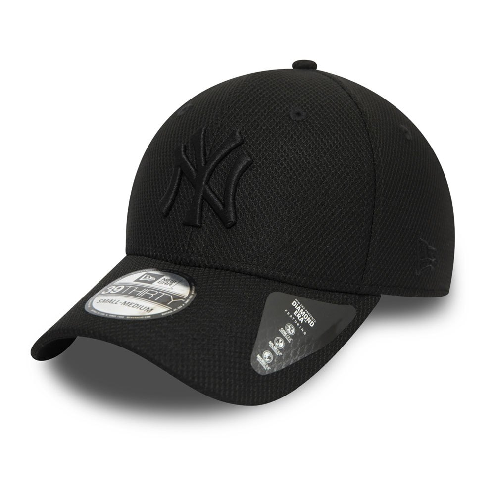 New Era New York Yankees Mlb 39thirty Diamond M-L Black
