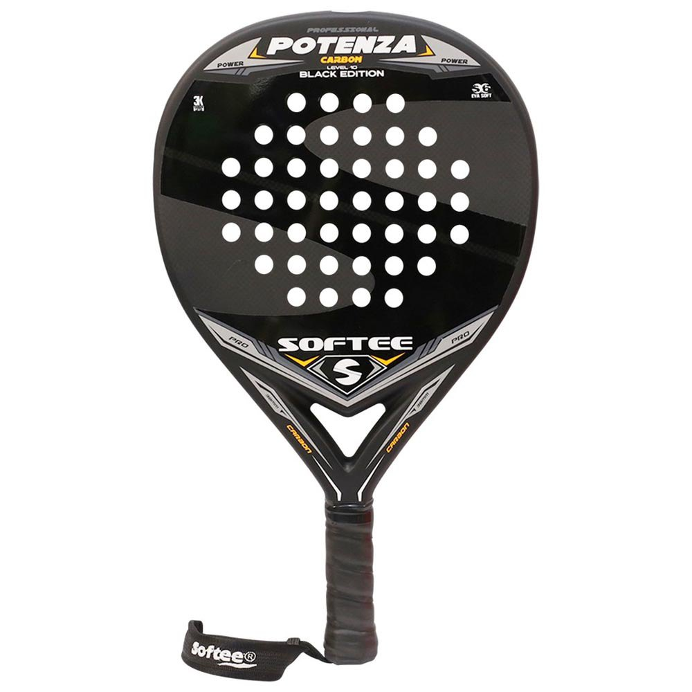 Softee Raquette Padel Potenza Black Edition One Size Black