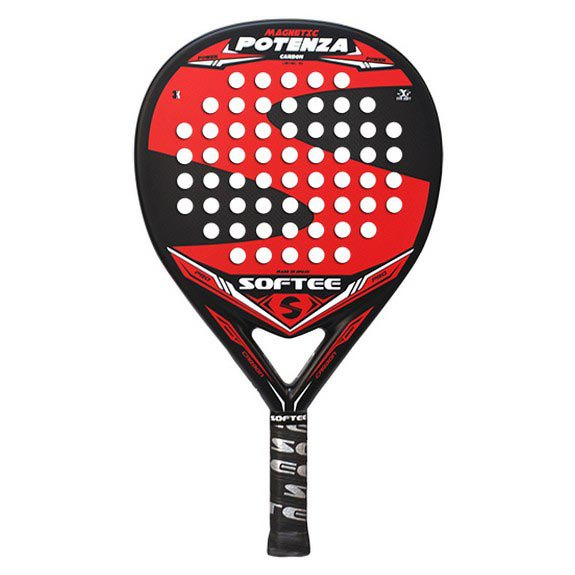 Softee Raquette Padel Potenza Magnetic One Size Black / Red
