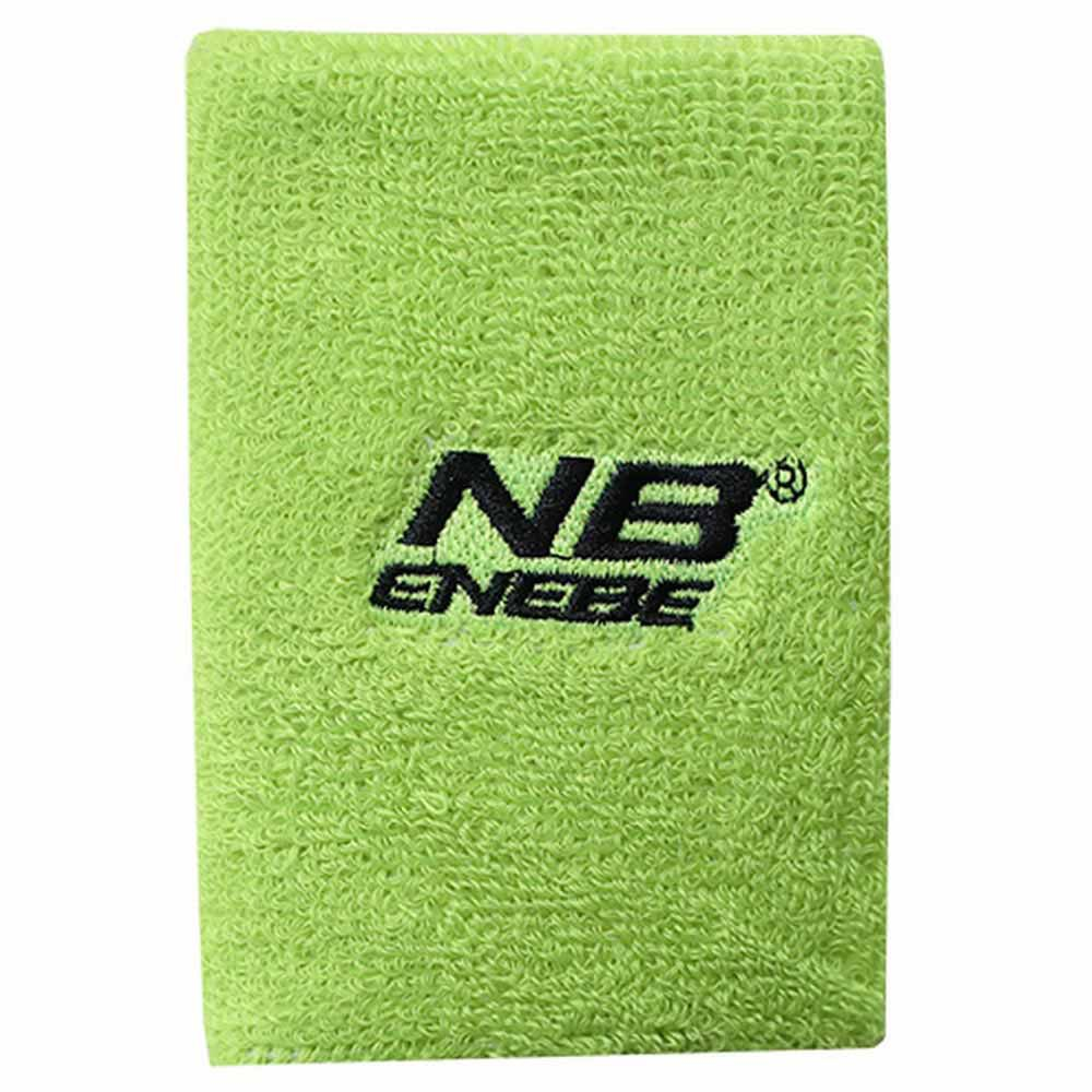 Enebe Wide Wristband One Size Green Fluo