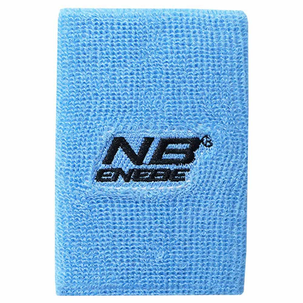 Enebe Wide Wristband One Size Blue Fluo
