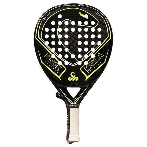 Vibora Black Mamba Edition Padel Racket One Size Black / Yellow Fluo