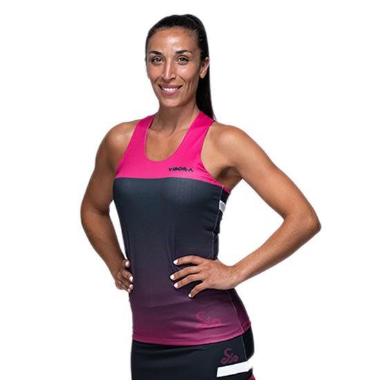 Vibora T-shirt Sans Manches Diva Lethal XS Black / Pink