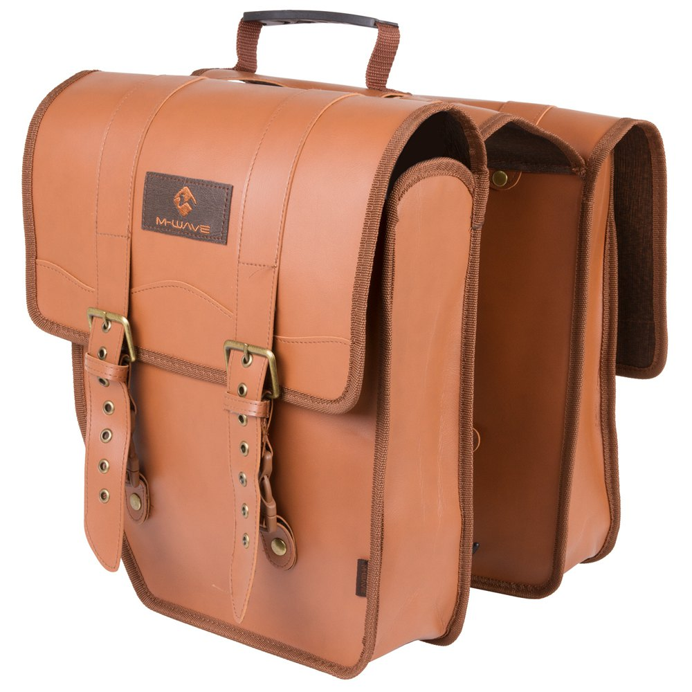 M-wave Amsterdam Double L 15l One Size Brown