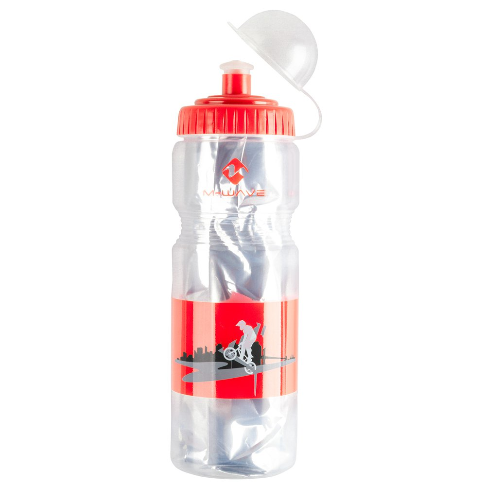 M-wave Pbo Insulated 400ml One Size Transparent / Red