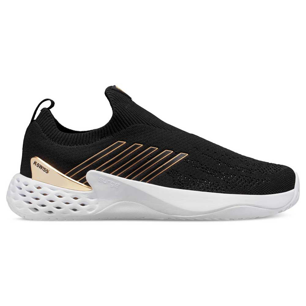 K-swiss Aero Knit EU 45 Black / Gold / White