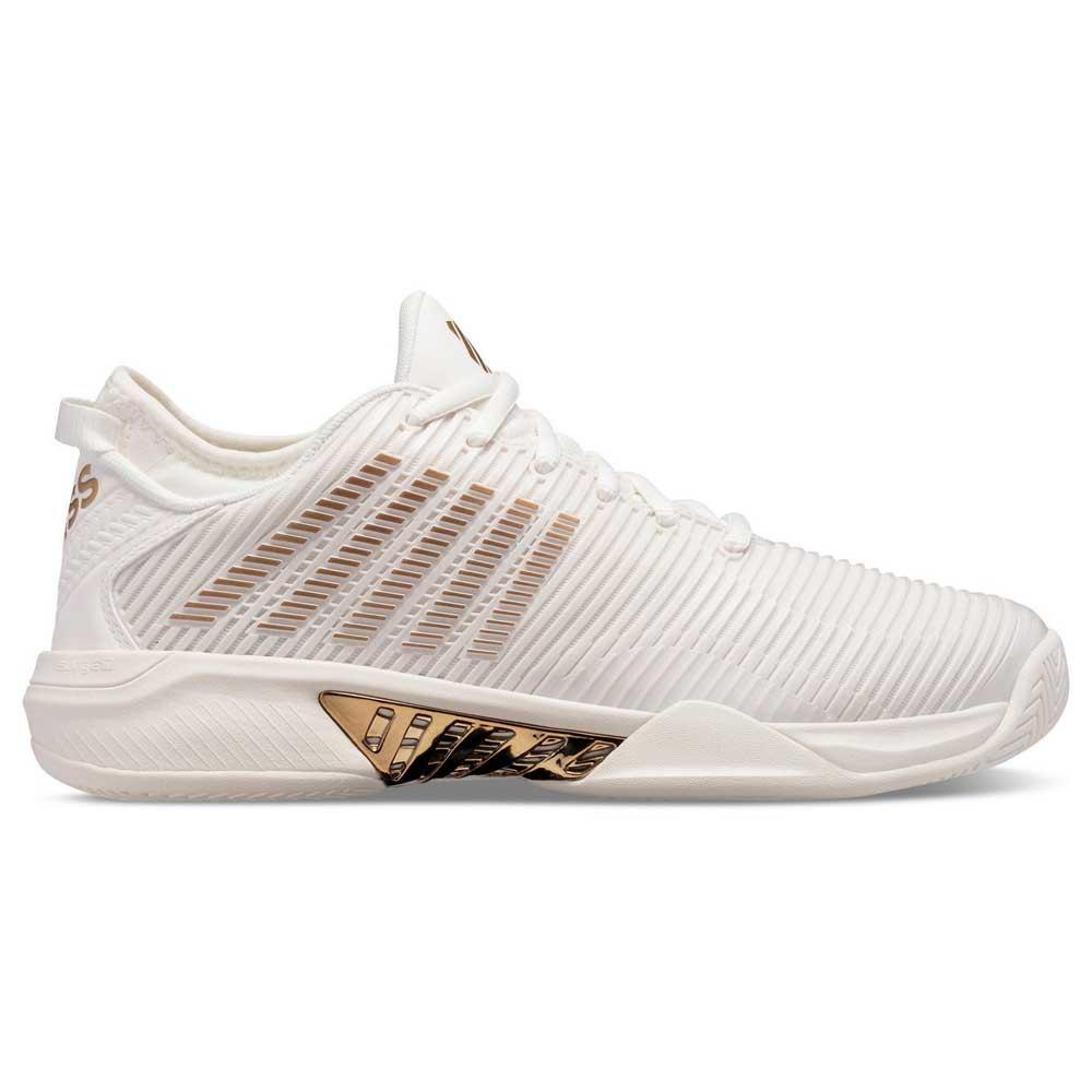 K-swiss Chaussures Surface Dure Hypercourt Supreme EU 41 White Alyssu / Gold