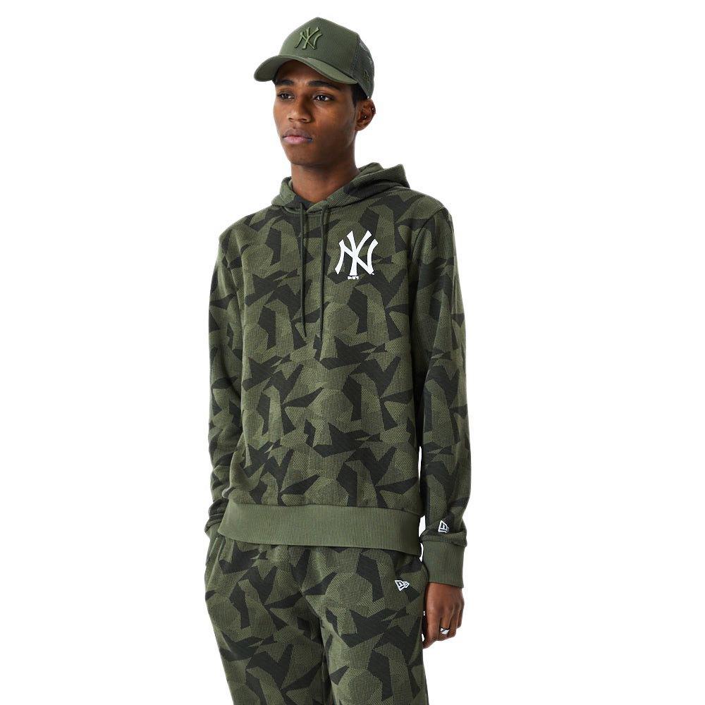 New Era Geometric Camo New York Yankees M Green Med